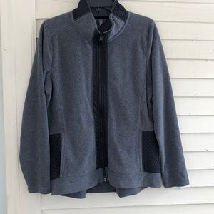 MTA sport fleece jacket coat Large quilted NWT